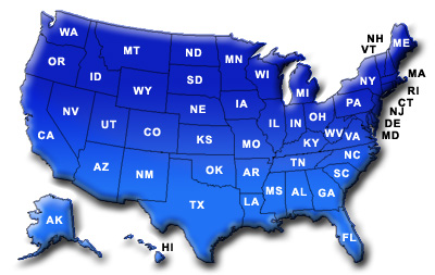 Build your custom TNT garage, carport, storage building, rv cover, boat cover, barn and more...  Please choose your state!